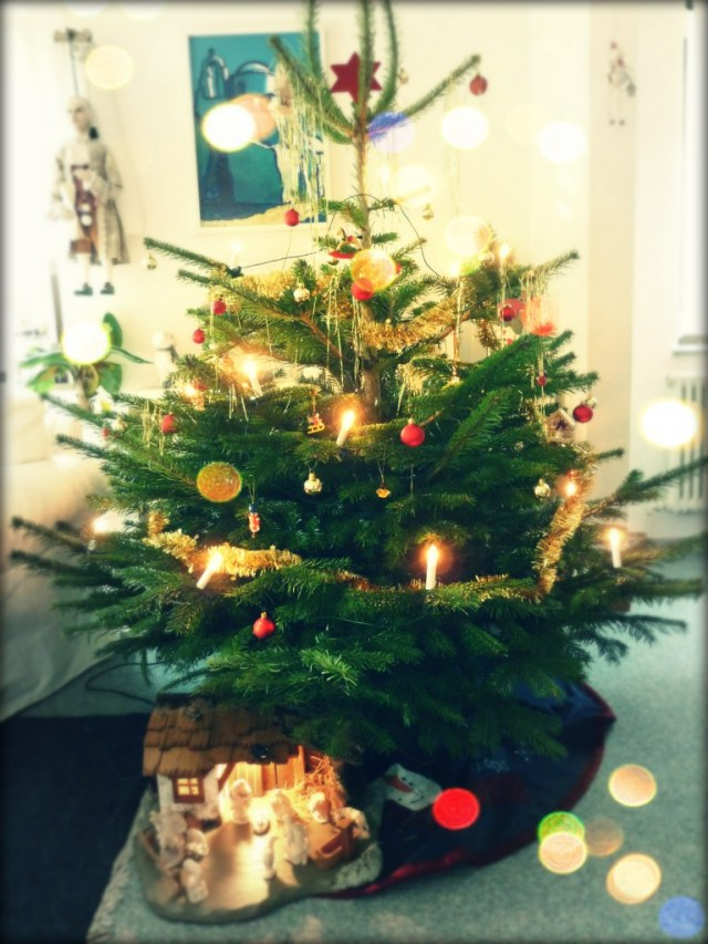 A German Christmas tree - without Christmas pickles!