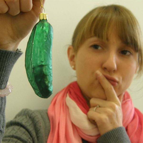 What is a Christmas pickle?