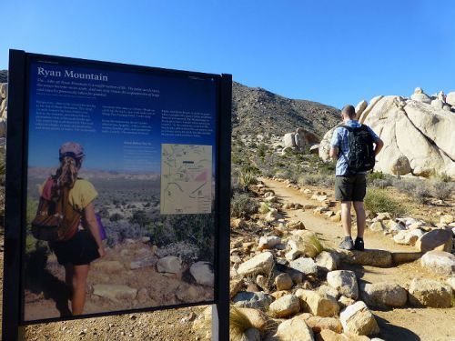 Ryan Mountain Trail