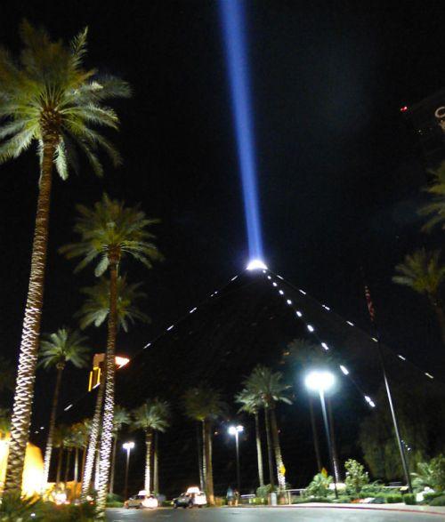 The pyramid of Luxor, Las Vegas