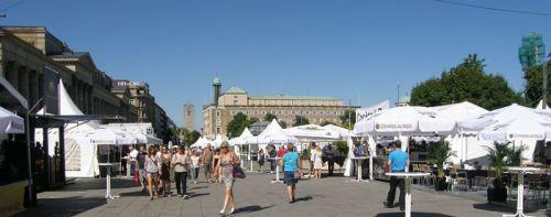 Sommerfest on Königstrasse in Stuttgart