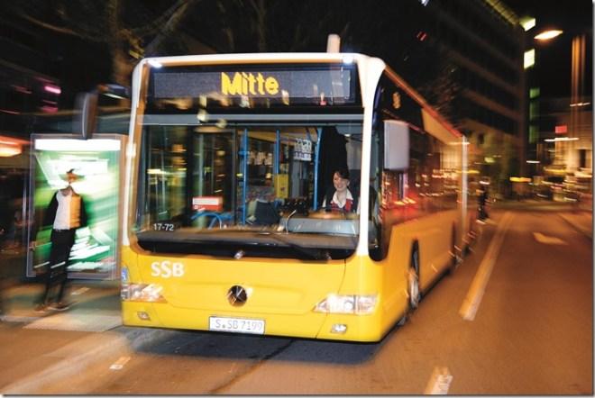 stuttgartnacht 2013, Shuttle-Bus