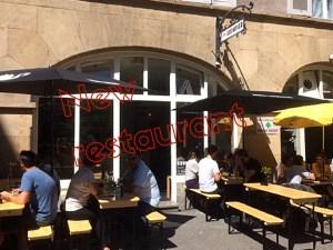 New restaurant Grombier in Stuttgart