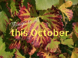 Things to do this october
