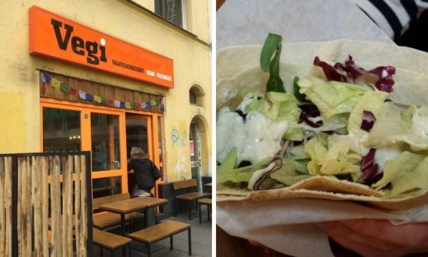 Enjoy vegetarian fast food at Vegi Stuttgart