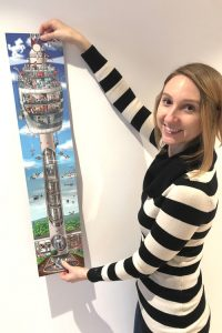 A new picture book is starring the Television tower in Stuttgart.