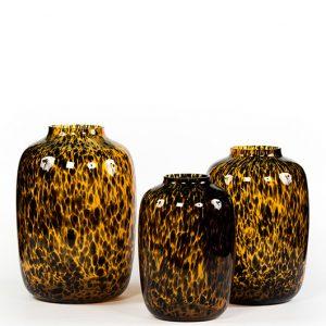 Vaas glas luipaard