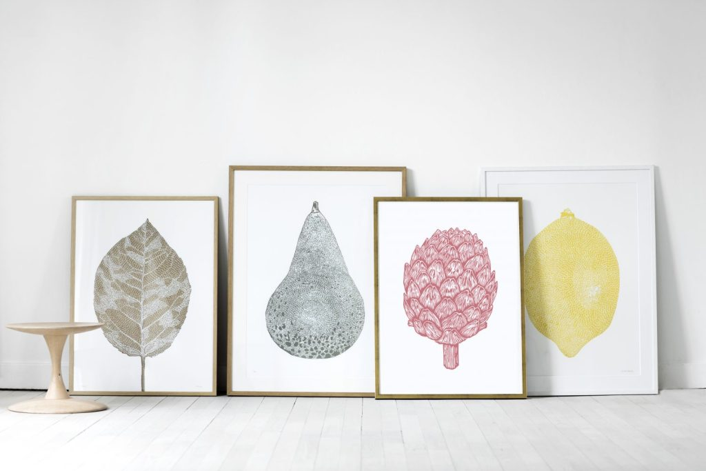 Linoprints Monika Petersen 50x70cm