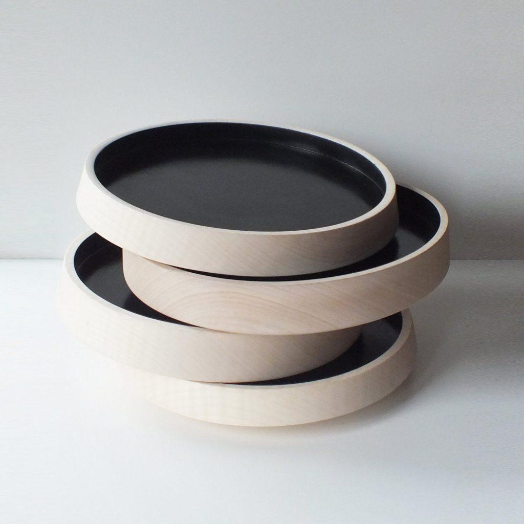 houten schalen van houtlokaal
