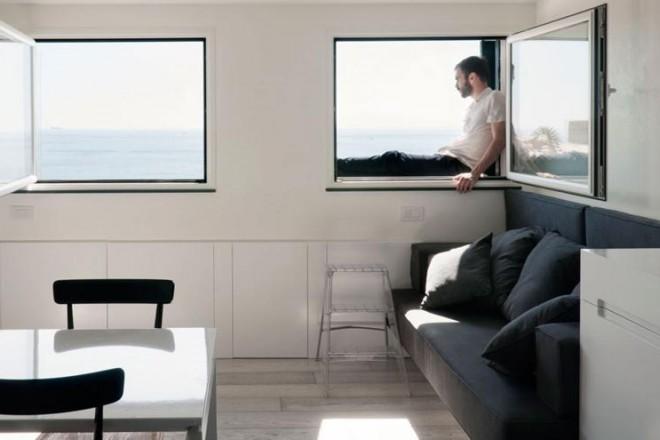 Mini casa al mare con vista