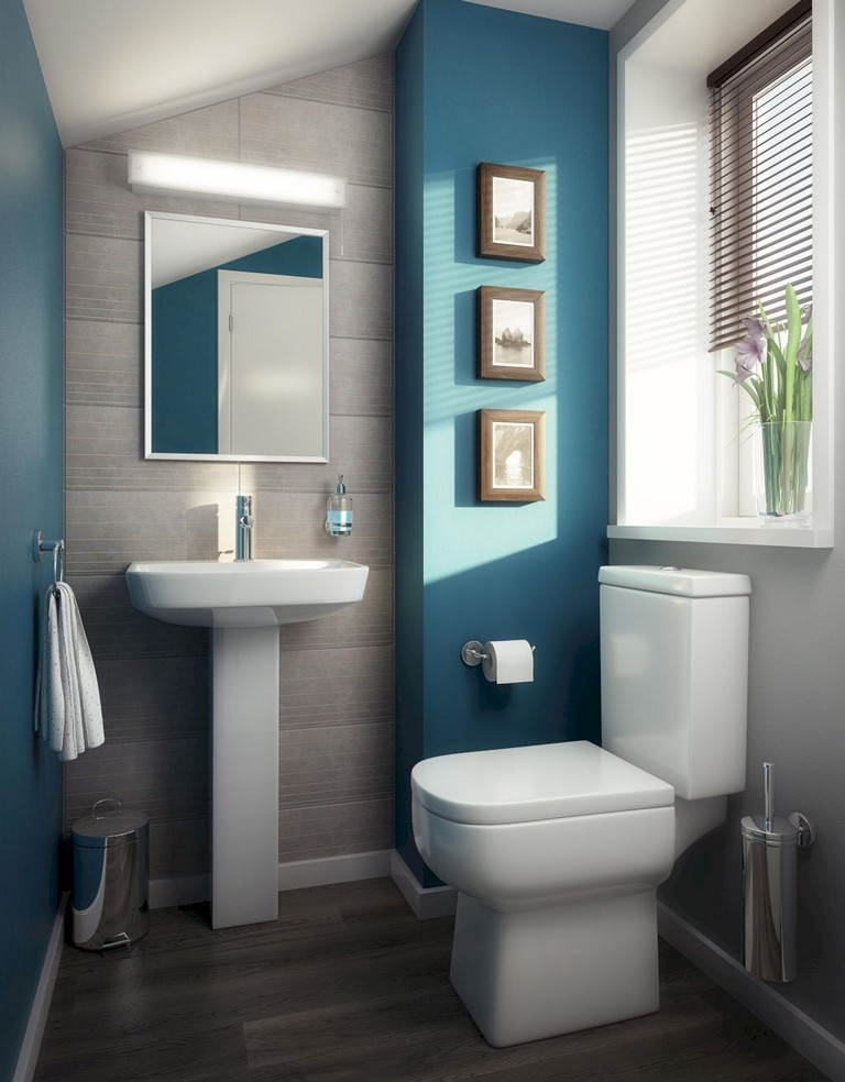 35+ Top Small Master Bathroom Decorating Ideas - Page 6 of 37