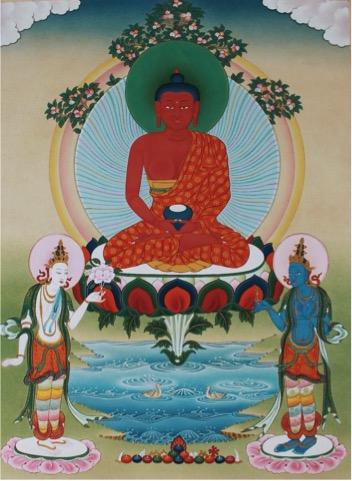 Amitabha color