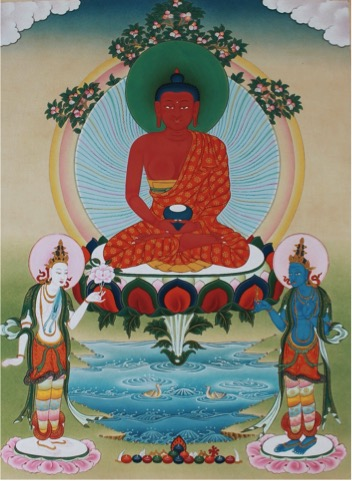 Amitabha color