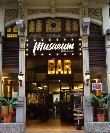 Musaeum - cultural bar in Gijon, Asturias