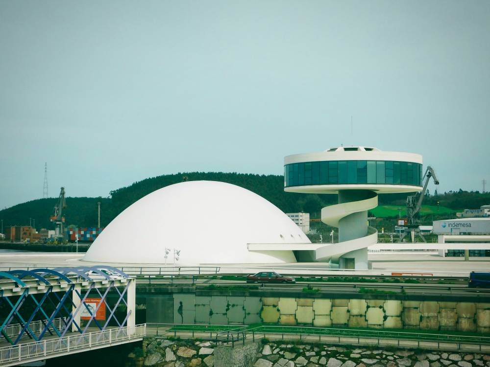 Buildings of the Centro Niemeyer