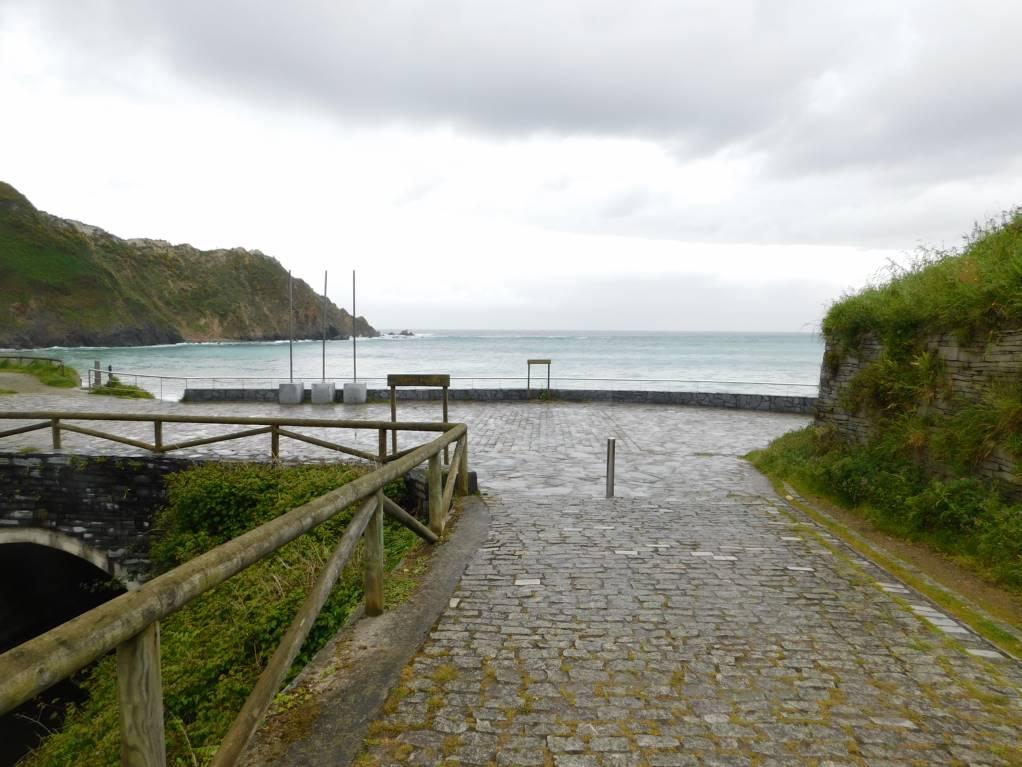 Way towards Playa de Cadavedo