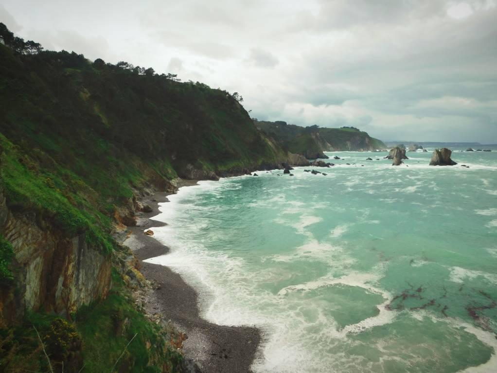 Look on top Playa Silencio