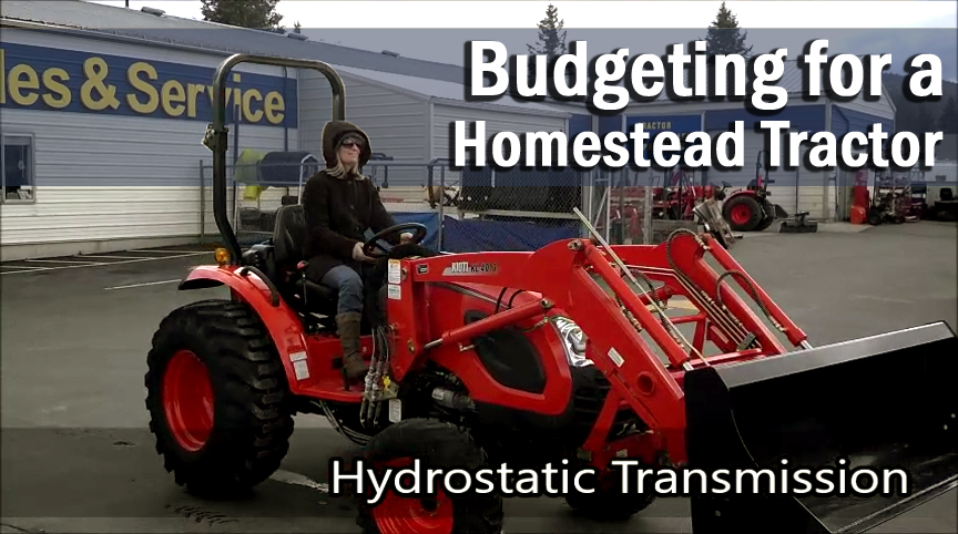 Budgeting for a Homestead Tractor