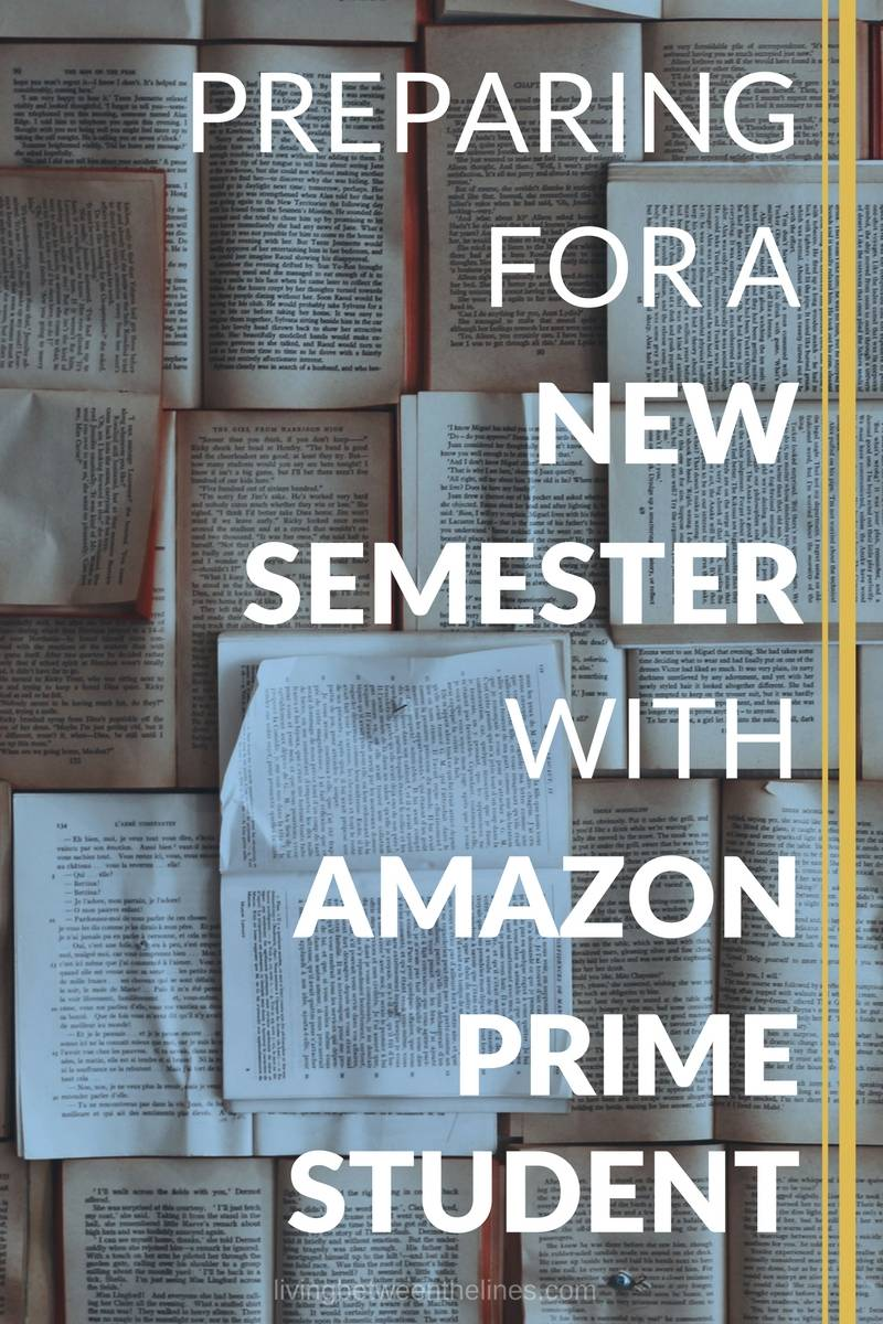 Preparing for a New Semester with Amazon Prime Student