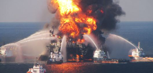 The oil explosion in the Gulf.