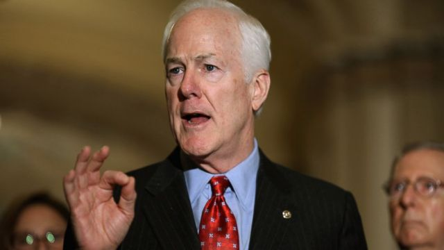 Cornyn is a white nationalist.