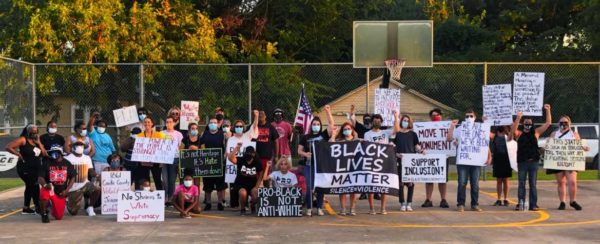 Cooke County Attempting to Rob Protesters of First Amendment Rights