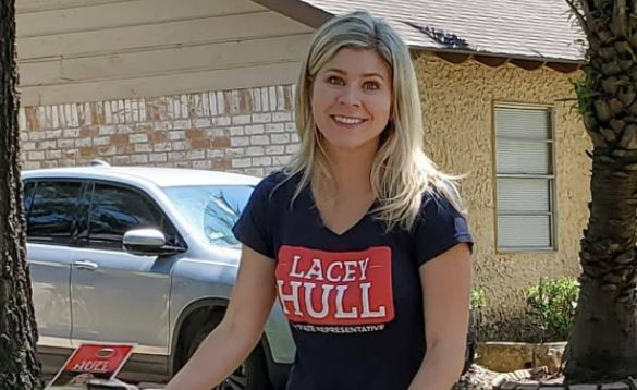HD138 Rep-Elect Lacey Hull's Husband Files For Divorce: Alleged Adultery