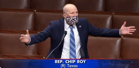 Chip Roy Cried On The House Floor… Again