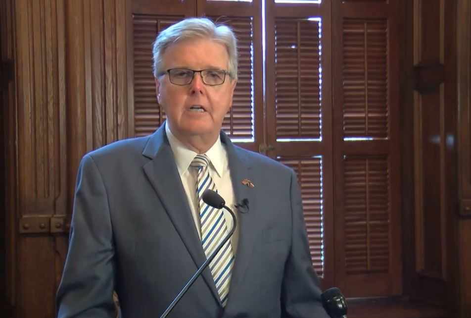 Dan Patrick's Angry And Unhinged Press Conference Was Full Of Lies