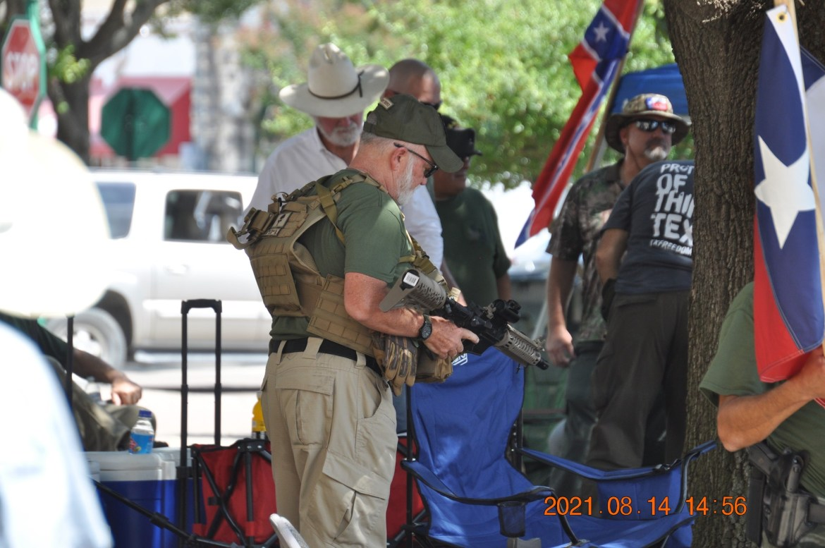 Domestic Terrorists Threaten Violence And Harass WilCo Residents