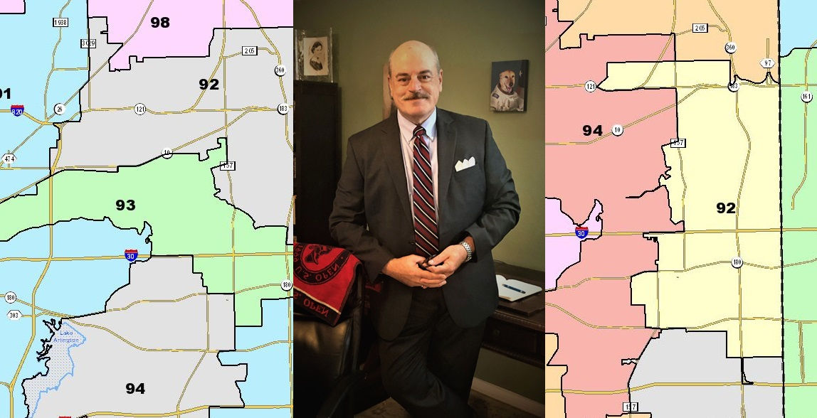 Dennis Sherrard, Candidate For The Texas House, On Redistricting Maps