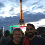 UNH Graduate Student Presents at Symposium in France