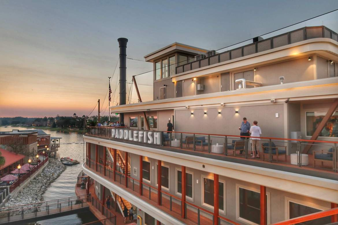 Paddlefish Restaurant Disney Springs