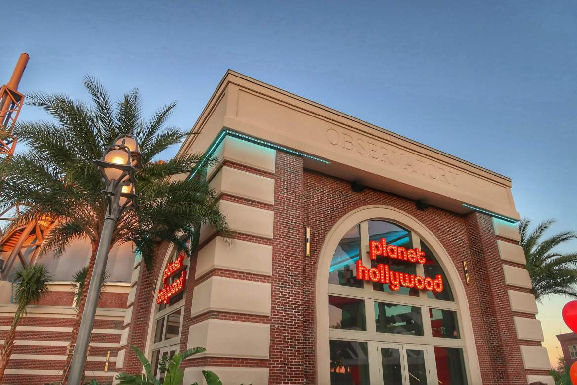 Planet Hollywood Disney Springs 1