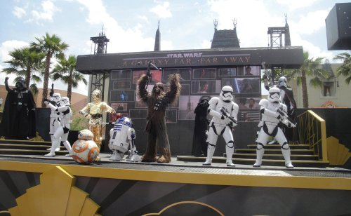 Star Wars a Galaxy far Far Away Disney World