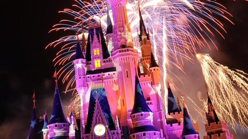 July 4th at Disney World magic kingdom