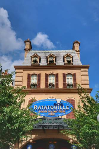 Ratatouille Ride in Disneyland Paris