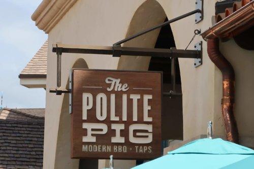 Polite Pig Orlando Disney Springs