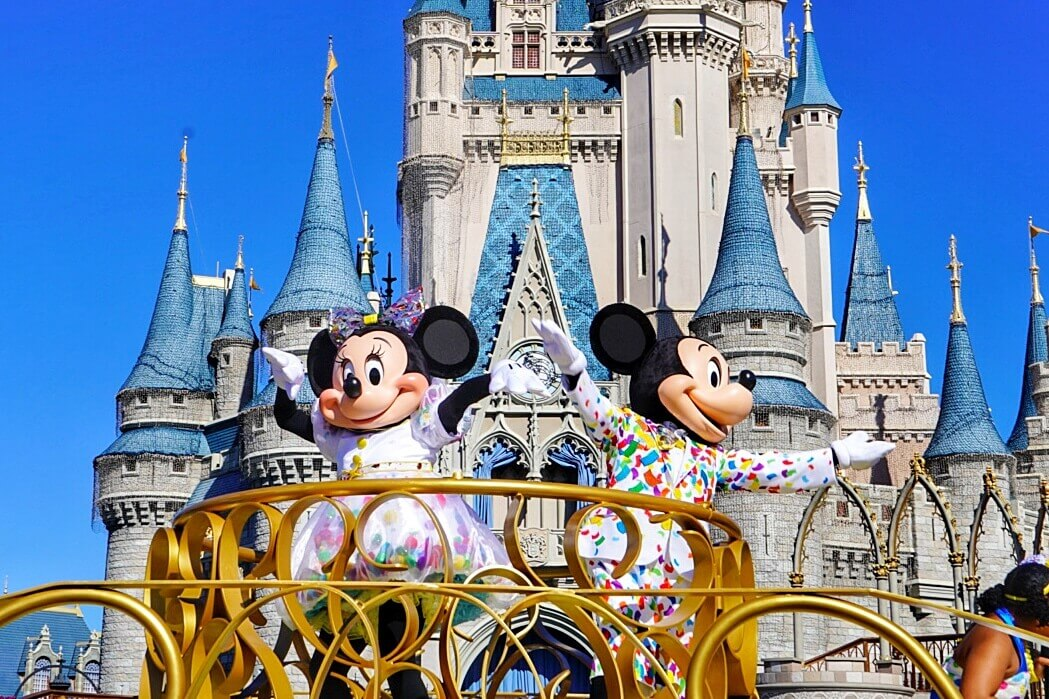 Celebrate Mickey Mouse Magic Kingdom Disney World 2019