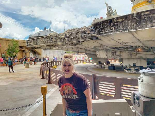 MILLENNIUM FALCON SMUGGLERS RUN STAR WARS GALAXY'S EDGE DISNEY WORLD ORLANDO