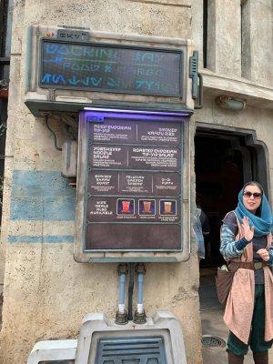 Docking Bay 7 food STAR WARS GALAXY'S EDGE IN WALT DISNEY WORLD