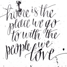 Hand lettered quote by Bob Goff.