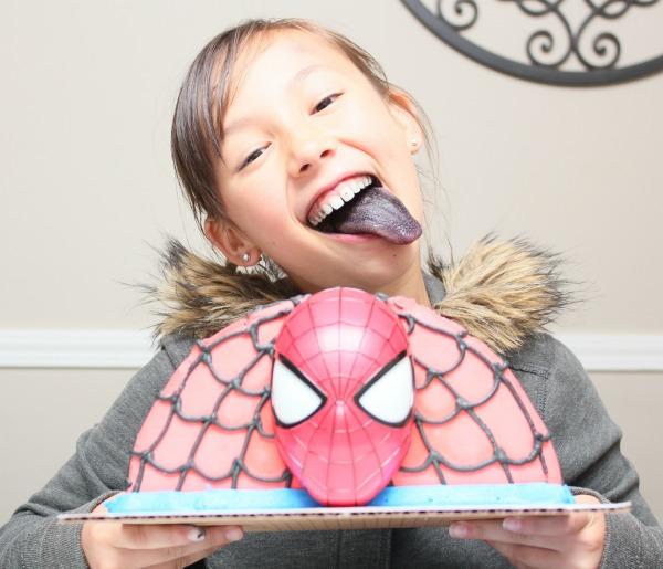 Baskin Robbins Amazing Spiderman 2 Ice Cream Cake Review