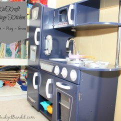 Kidkraft Navy Vintage Kitchen 53296 Sink Refinishing Review Image Play Grow