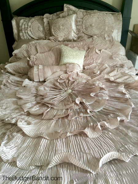 BrylaneHome 5 piece Romance Bedding Set Review