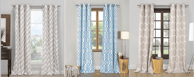 Zulily Curtain Sale All UNDER 40 Retail Up To 200