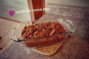 I HEART Gluten Free Pumpkin Bread