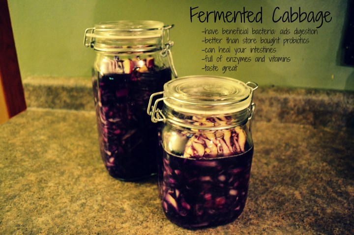 Benefits of fermented cabbage
