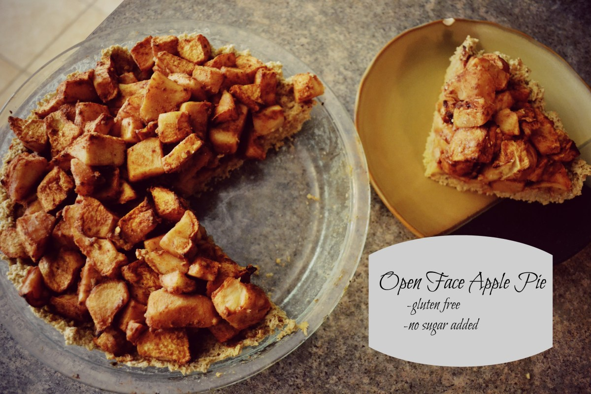 "Quick and Easy ""Open Face Apple Pie"""