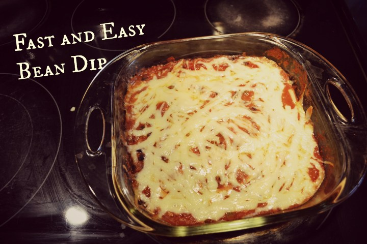 Fast and Easy Bean Dip